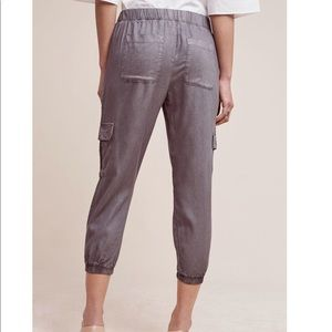 Anthropologie Pants - Cloth & Stone trimmed Cargo Joggers By Anthro